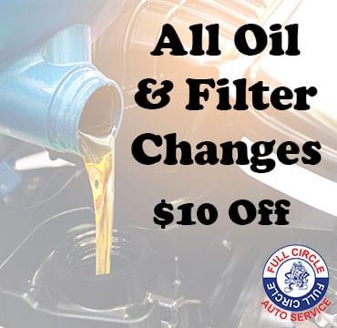 oil change and filter in o'fallon il