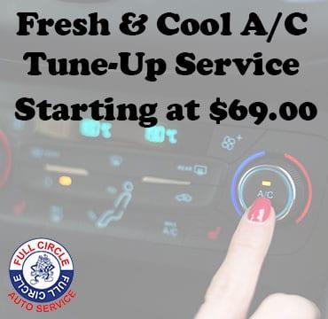 car a/c tune up service near o'fallon illinois