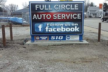 full circle auto service and auto repair shop in o'fallon il